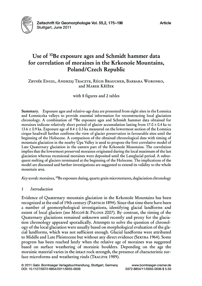 Schmidt hammer exposure-age dating (SHD) of late Quaternary fluvial terraces in New Zealand